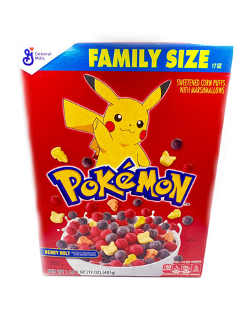 Pokemon Berry Bolt Cereal