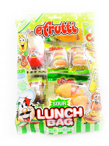 Sour Gummy Lunch Bag