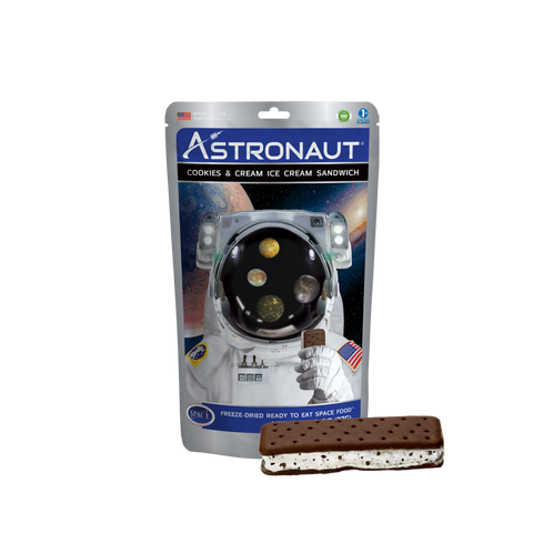 Astronaut Cookies & Cream Ice Cream Sandwich