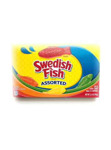 Assorted Swedish Fish Theatre Box