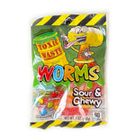 Toxic Waste Worms - Sour & Chewy Candy