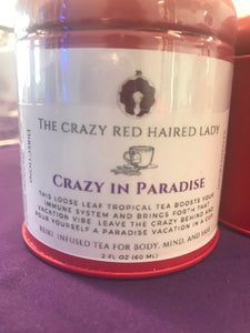 Crazy in Paradise - tropical white tea