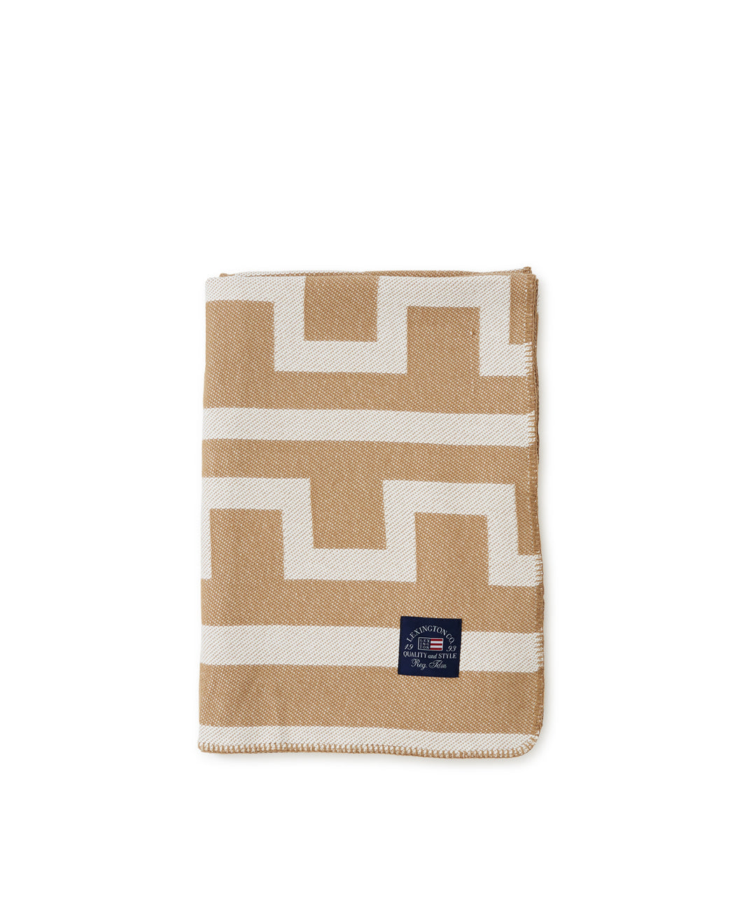 Graphic Recycled Cotton Blanket