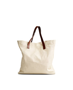 Lewis Canvas/Leather Shopper