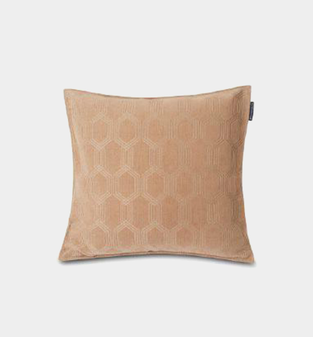 Jacquard Cotton Velvet Pillow Cover