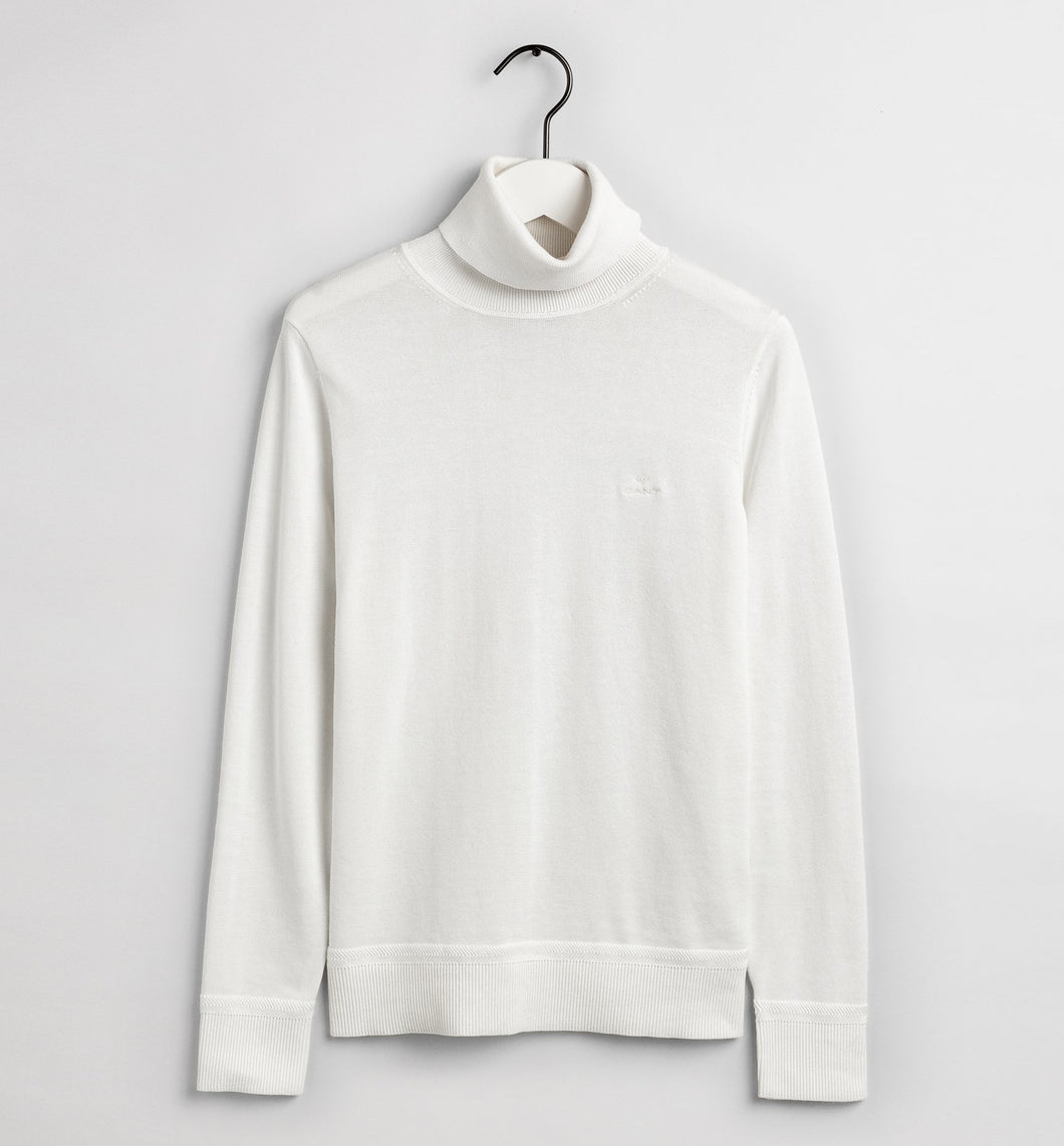 LIGHT COTTON TURTLENECK