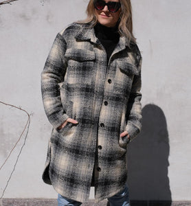 Marco Structure Check Coat