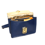 Load image into Gallery viewer, Women crossbody Leather Bag_Rialto Midnight Blue