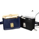 Load image into Gallery viewer, Women crossbody Leather Bag_Rialto Midnight