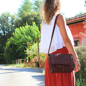 Women crossbody Leather Bag_Molino