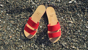 Neon Sandals_Red