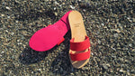 Load image into Gallery viewer, Neon Sandals_Red