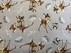 Quilting Cotton  - Bambi  - 1/2 meter