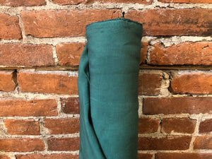 Linen Viscose Textured - Jungle green- 1/2 metre