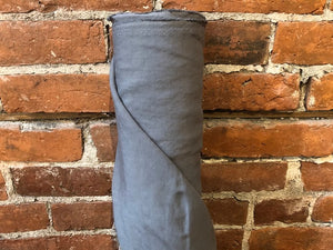 Linen Viscose Textured - Medium grey- 1/2 metre