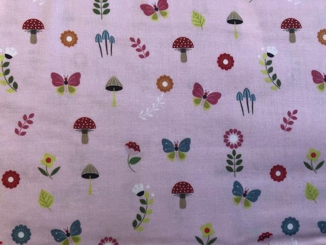 Quilting Cotton - Butterfly Garden - 1/2 metre