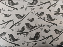 Load image into Gallery viewer, Quilting Cotton - Birds - Grey - 1/2 metre