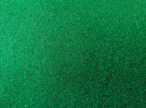 Wool Melton - Green - 1/2 metre