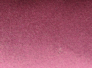 Wool Melton - Dark Red  - 1/2 metre
