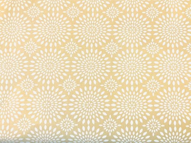 Quilting Cotton  - Medallions cream background - 1/2 meter
