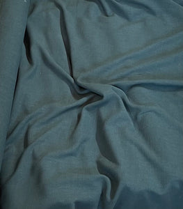Linen Viscose Noil - Forest green - 1/2 metre