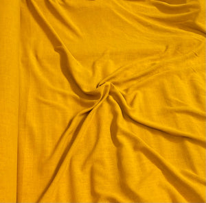 Linen Viscose Noil - Sunflower - 1/2 metre