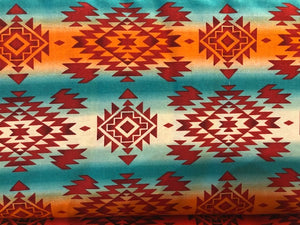 Quilting Cotton  - Southwest #3 - 1/2 meter
