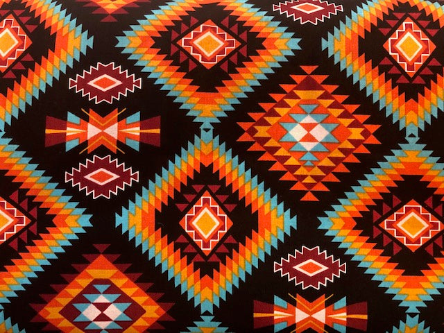 Quilting Cotton  - Southwest #4 - 1/2 meter