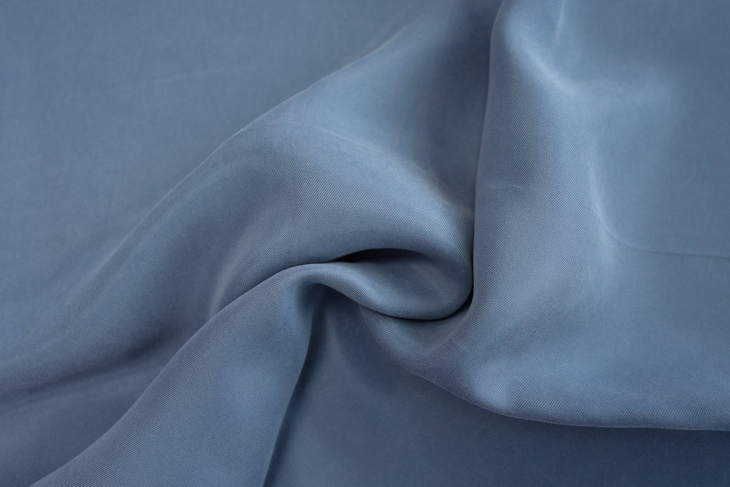 Cupro and Viscose Sandwashed  - mist - 1/2 meter