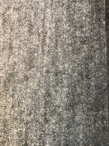 Boiled Wool  - Light grey mix - 1/2 metre