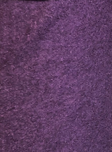 Boiled Wool  - Purple - 1/2 metre