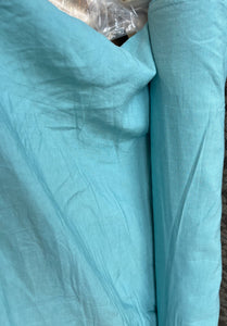 Linen Viscose Textured - Light blue- 1/2 metre