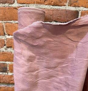 Linen, Cupro and Lyocell Sandwashed  - Dusty Rose - 1/2 meter