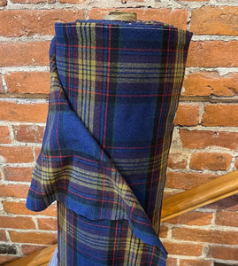 Wool Coating plaid #12 - 1/2 metre