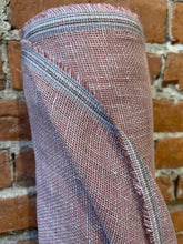 Load image into Gallery viewer, Open weave Linen  - Dusty Rose- 1/2 metre