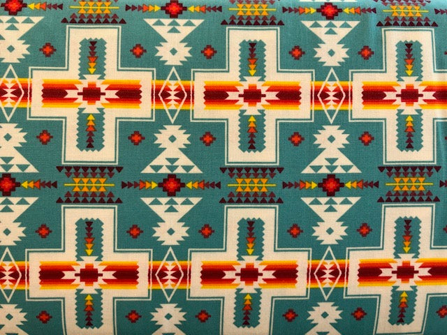 Quilting Cotton  - Native Spirit  - 1/2 meter