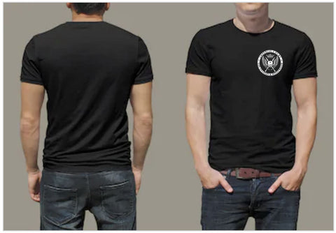 ICLAH BLACK T-SHIRT