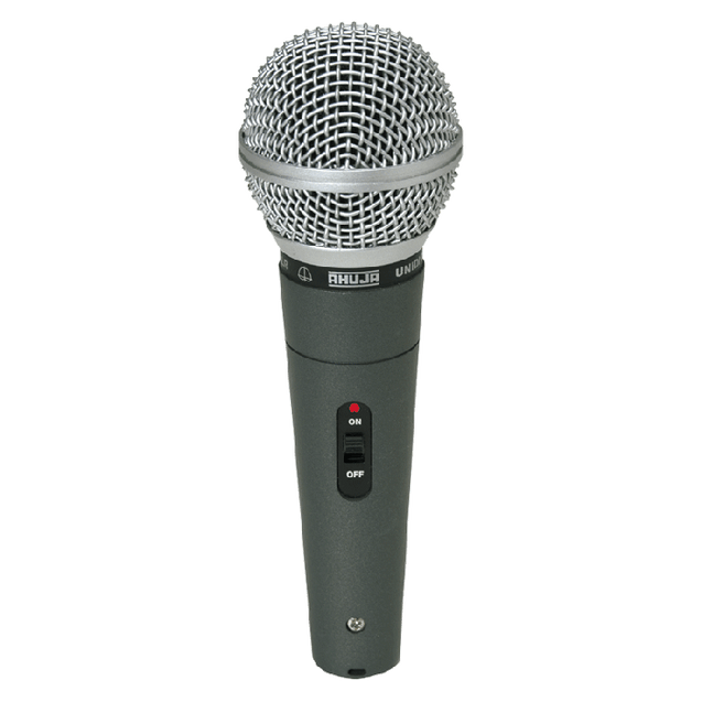 Ahuja Microphones Unidirectional Dynamic Speech & Vocal ASM-580XLR