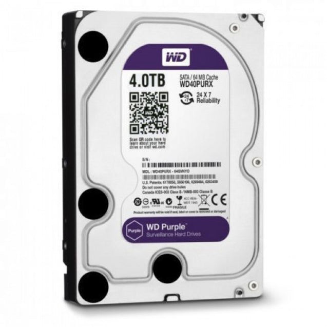 WD 4 TB Survilliance Purple Hard Disk