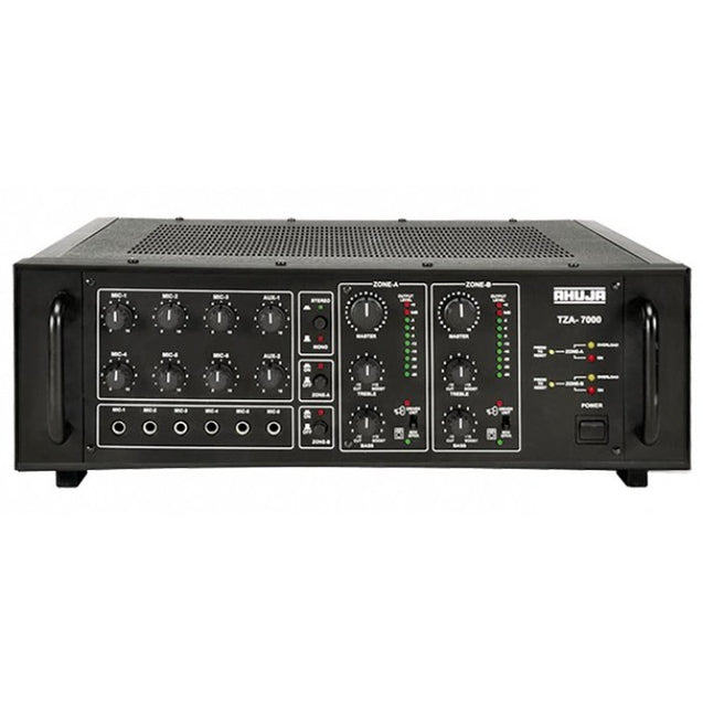 Ahuja PA Mixer Amplifier Model TZA- 7000 : Infernocart.com