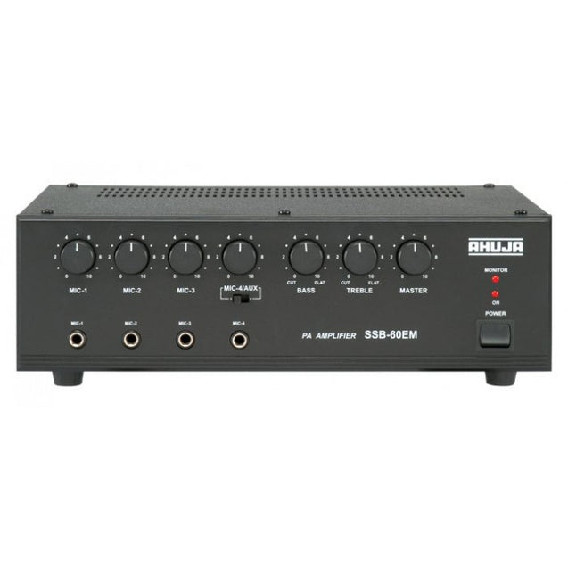 Ahuja PA Mixer Amplifier Model SSB-60EM : Infernocart.com