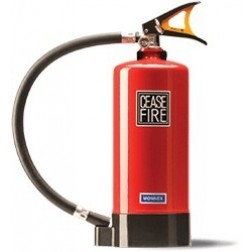 Ceasefire ABC Powder Map 50 Fire Extinguisher - 6KG