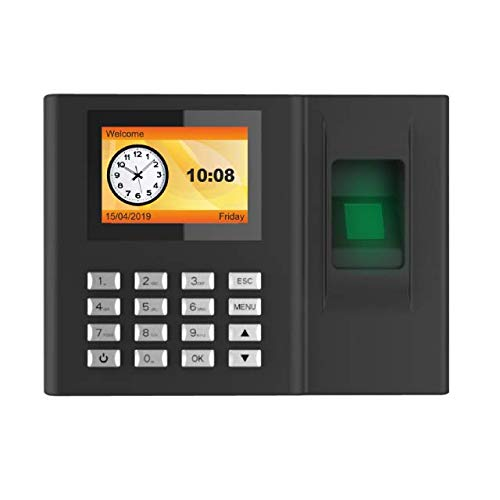 Realtime Biometric Fingerprint Time Attendance Model RS-9