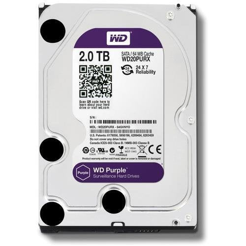 WD 2 TB Survilliance Purple Hard Disk