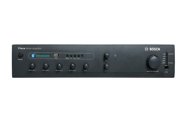Bosch Plena Mixer Amplifier With Bluetooth 60 Watts Model PLE-1ME060-3IN