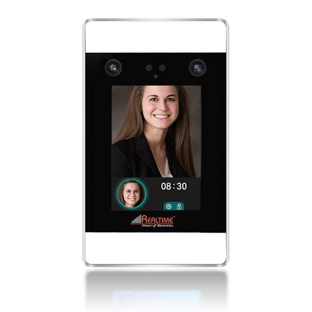 Realtime Touchless Biometric With Access Control Long Range Face Recognition PRO 1400