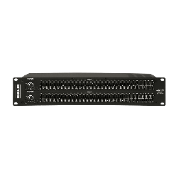 Ahuja 2-Channel 31-Band Graphic Equalizer Mixers Model AGE-31X2