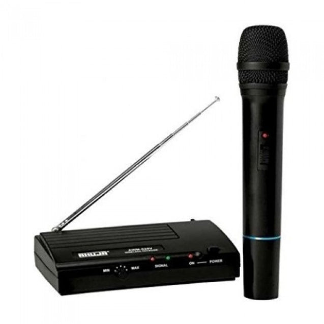 Ahuja Professional VHF Wireless PA Microphones Model AWM-520VH