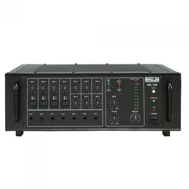 Ahuja PA Mixer Amplifier Model SSA-7000 : Infernocart.com