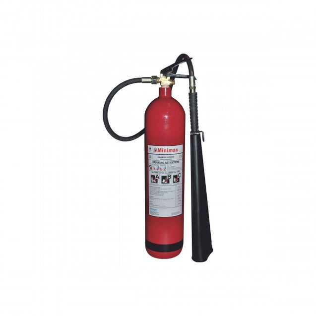 Minimax CO2 Wheel Fire Extinguisher 2Kg